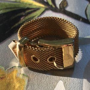 Vintage Mesh Belt Ring